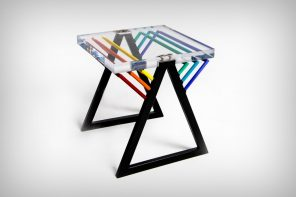 Turning one of the most iconic album artwork into furniture