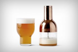 "A beer accessory for the ""cream of the crop"""