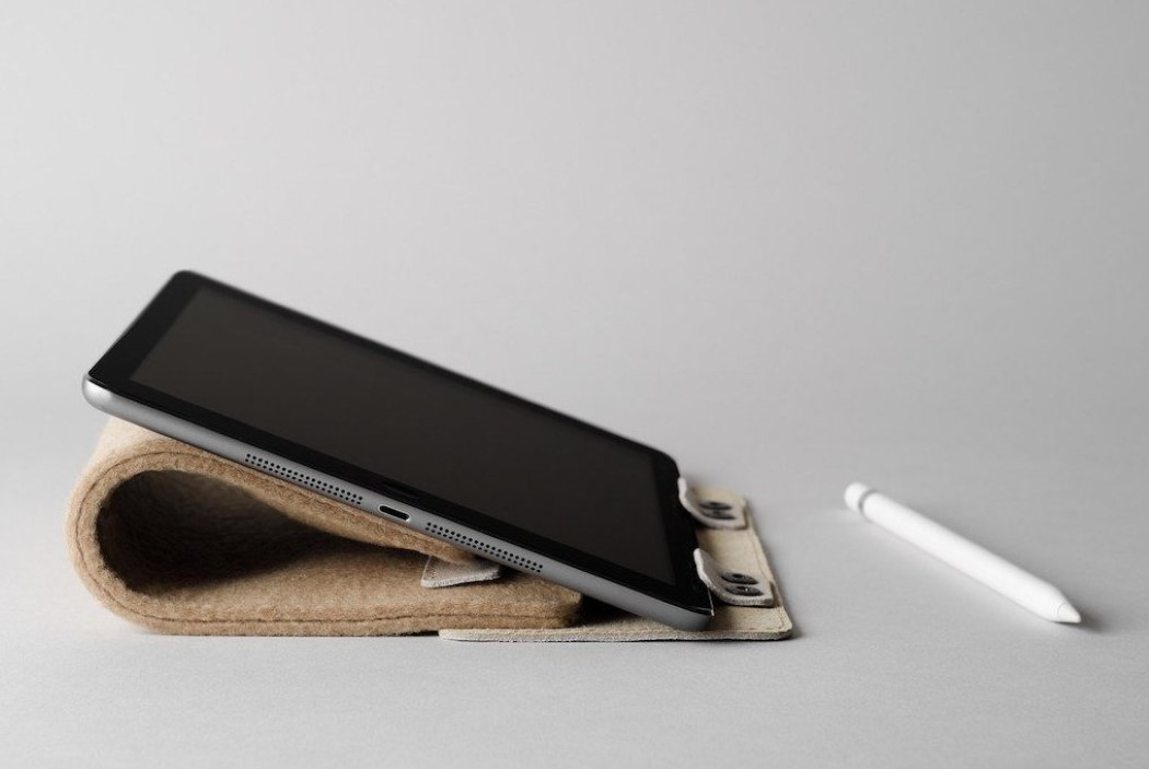 A case/stand that multi-tasks, like your iPad!