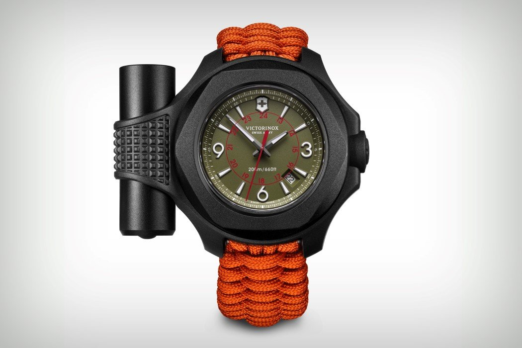 A Swiss Army Tactical Watch Yanko Design