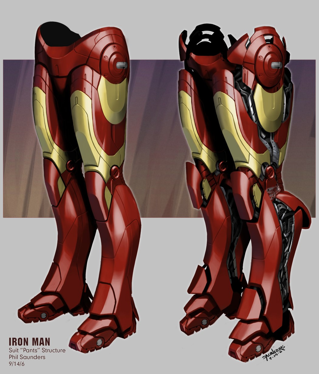 The technical detailing behind the Iron Man suitu0027s assembly was detailed out by Saunders too. u201c & Phil Saunders the concept designer behind the Iron Man suits ...