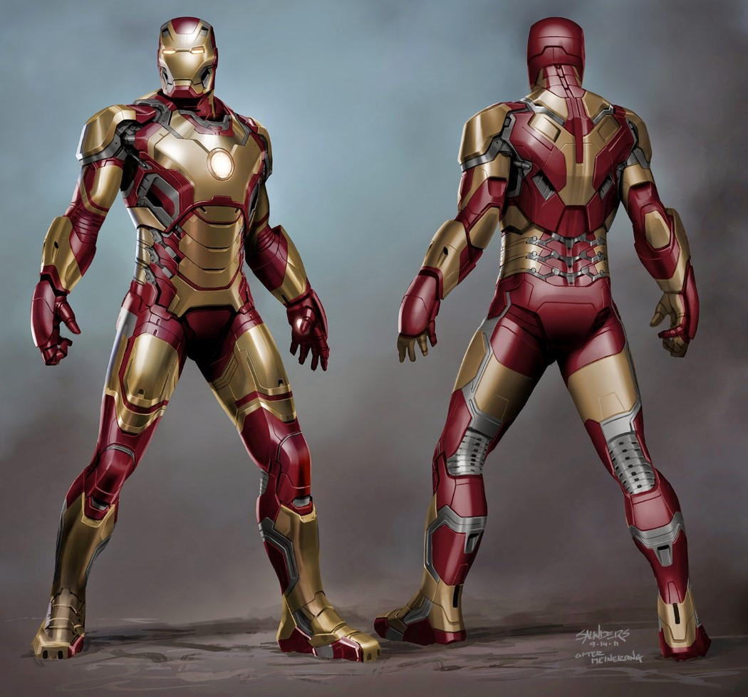 Iron Man Suit Design Software