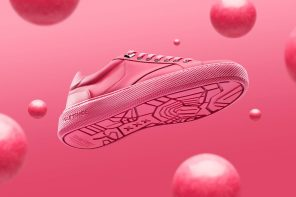 The shoe that turns recycled chewing-gum into rubber outsoles