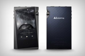 Astell & Kern's new hi-fi audio player has the strangest bezels on the planet