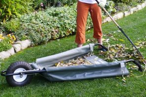 This tarp-based wheelbarrow is all kinds of awesome!