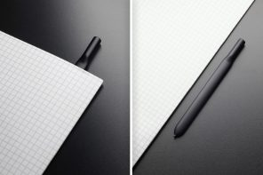 The pen that captures ideas and holds pages