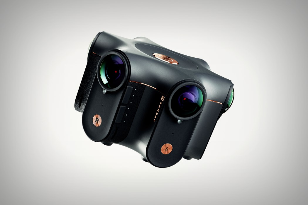 The Obsidian captures 360° Stereoscopic 3D videos… in 8K