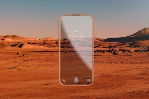 One Beautiful, Bendy Phone