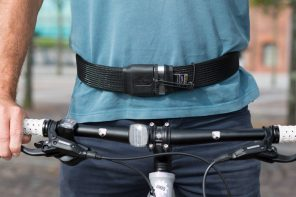 Belt Meets Bike Security