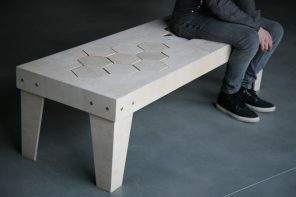 Stunning Wood-But-Not-Rigid Seating
