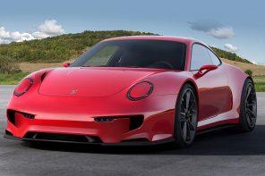 Va Va Vroom! Meet this Sexy E-Porsche