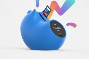 A Piggy Bank for the currency of the information age!