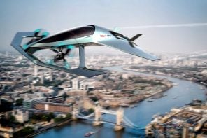 With the Volante Vision Concept, Aston Martin is taking to the skies