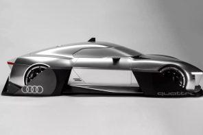 Audi, meet Robocop!