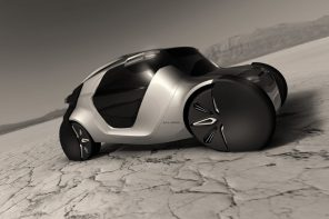 A realistic representation of automobiles from 2030