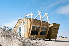 Architecture that takes inspiration from shipwrecks