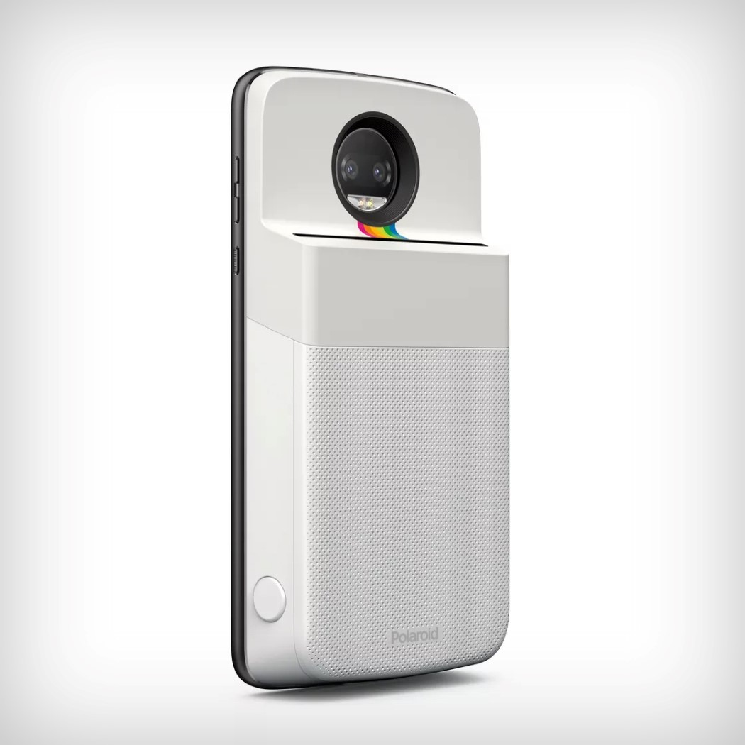 Motorola's Polaroid mod brings your digital selfies to life