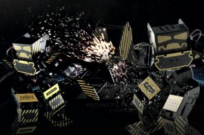 This Fighting Robot Packs A Mean Punch!