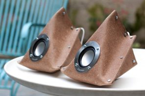 The DIY speakers that come to you in a flat envelope