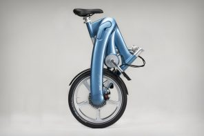 Everything you want from a car… in a folding bicycle