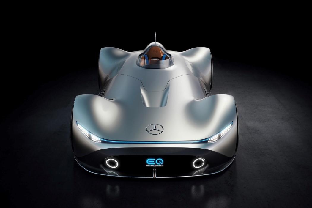 Mercedes-Benz Showcar Vision EQ Silver Arrow, Pebble Beach 2018