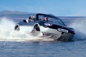 Hey Hollywood, the Aquada can drive on land and sail on water…