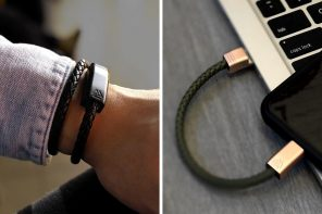 What If Your Charging Cable Was a Stylish Wearable?