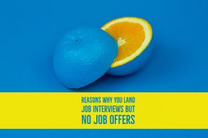 Reasons why you land job interviews but no job offers