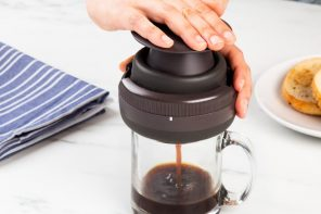 The French Press's funky cousin