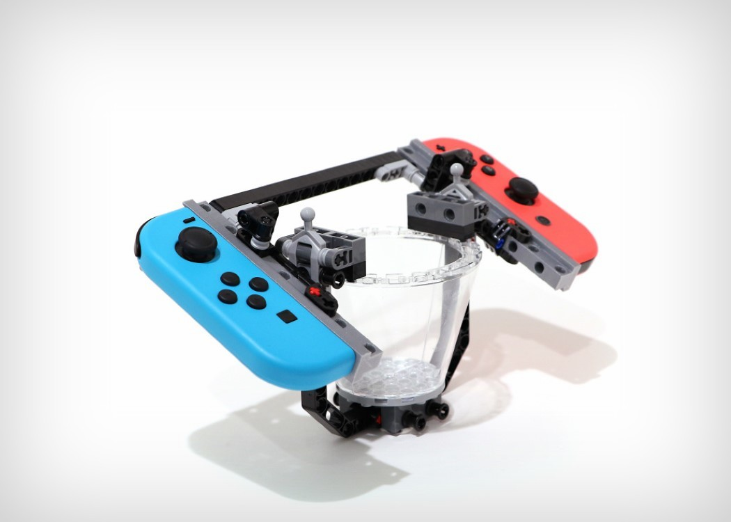 One designer made his own Nintendo Labo kits out of Lego ...