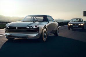 Peugeot's E-Legend concept is peak Retrofuturism