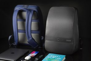 The Lumzag is One Smart Carbon Fibre Bag