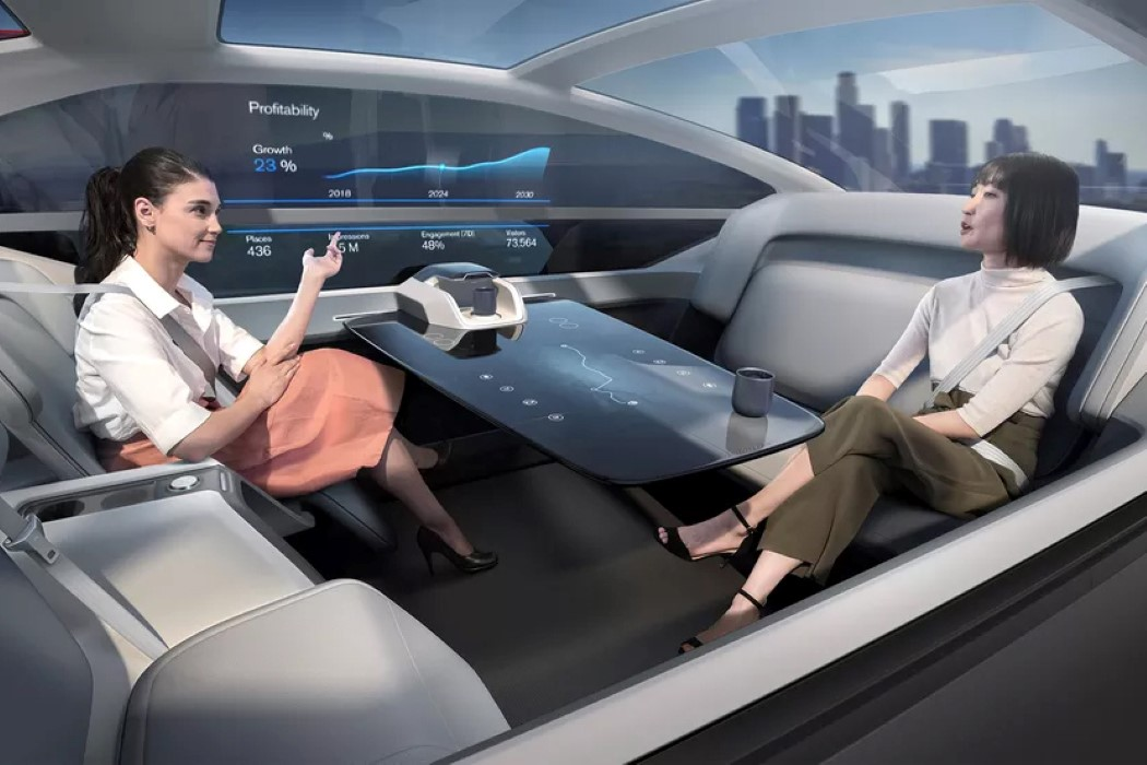 Volvo's autonomous car is basically architecture with wheels