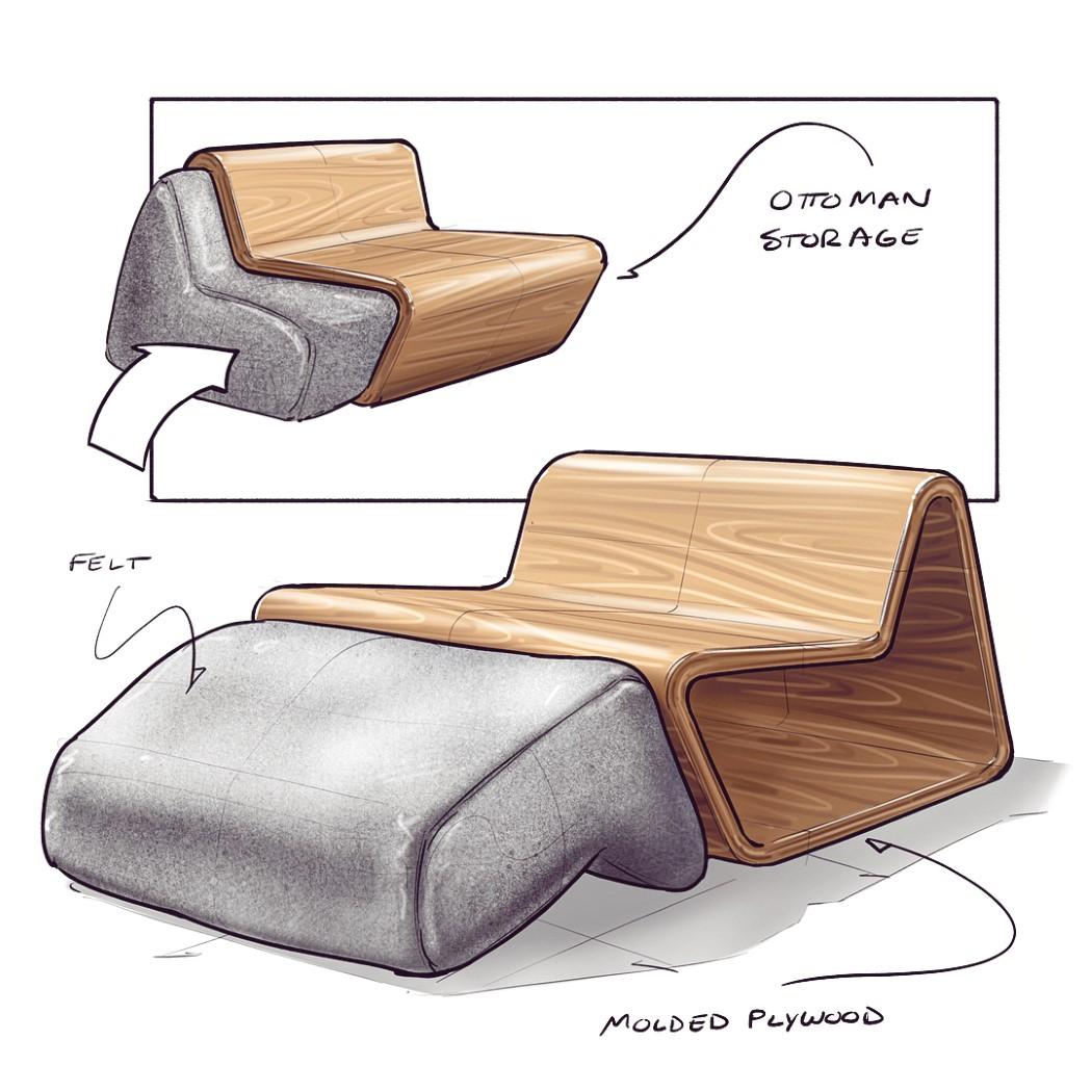 Yd Spotlight Nicholas Baker S Chair Sketch Challenge Pt 2 Yanko Design