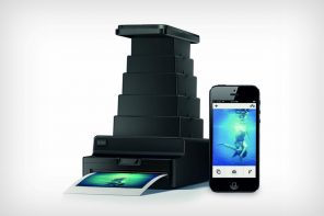 The Instant Lab turns your phone into a polaroid!
