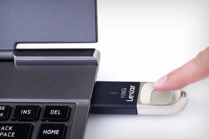 TouchID in your thumb-drive!