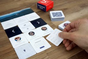 This card-based UX wireframe maker turns digital ideation into physical fun