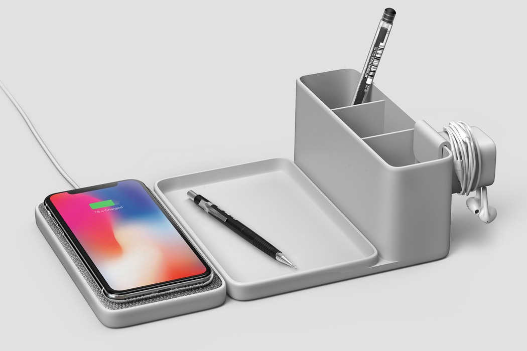 A Minimal Approach To The Wireless Charger Yanko Design