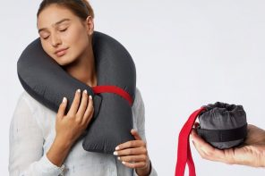We Found a Travel Pillow that Ticks All the Boxes!