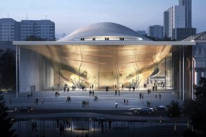 The Concert Hall That's Inspired by Sound Waves
