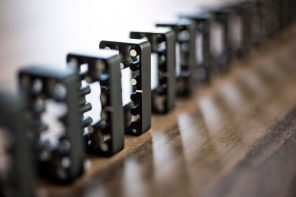 These Dominoes are quite literally edgy!
