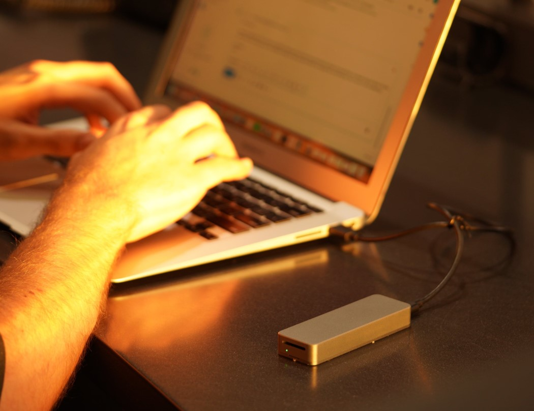 This small stick is a 2 terabyte SSD!