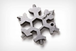 This snowflake-shaped multitool makes the best stocking-stuffer for EDC lovers!