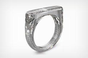 Jony Ive's latest project is a 100% diamond ring