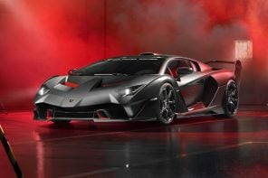 Lamborghini's SC18 concept is like the gaming-laptop version of cars