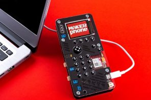 The Makerphone: From Consumer Electronics to Creator Electronics!