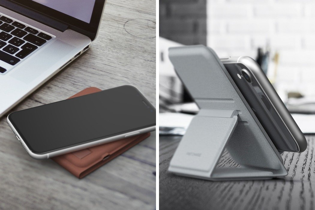 smartphone stand meets wireless charger yanko design. Black Bedroom Furniture Sets. Home Design Ideas