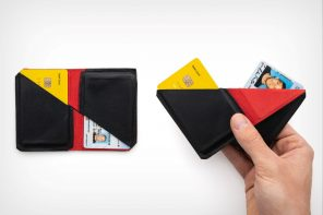 The bi-fold wallet that has tricks up its sleeve!