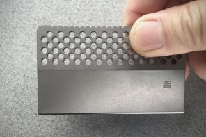 The pocket knife that slides into your wallet