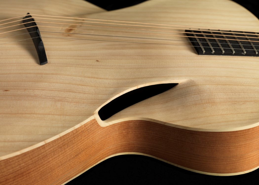 The Acoustic Guitar gets its first significant design mod in 180 years!